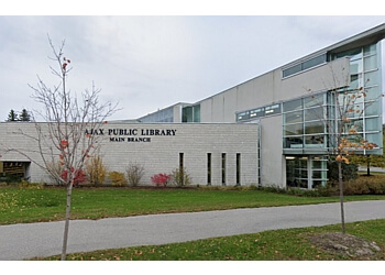 Ajax landmark Ajax Public Library - Main Branch