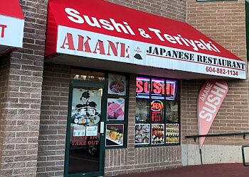 Akane Japanese Restaurant Langley Bc