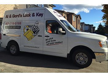 Ajax locksmith Al & Gord's Lock & Key