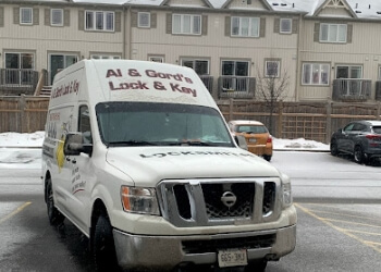 Oshawa locksmith Al & Gord's Mobile Lock & Key