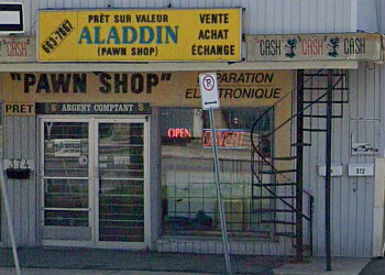 Gatineau pawn shop Aladdin Pawnshop Inc.