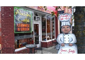 Nanaimo mediterranean restaurant Aladdin's Cafe