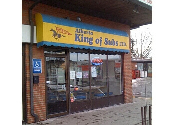 Calgary sandwich shop Alberta King Of Subs
