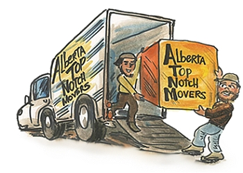 St Albert moving company Alberta Top Notch Movers