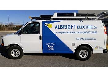 Pickering electrician Albright Electric Co. Limited
