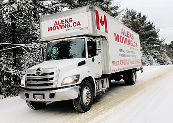 Milton moving company Aleks Moving