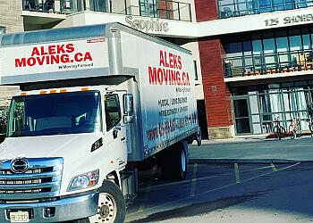 Oakville moving company Aleks Moving