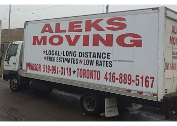 Windsor moving company Aleks Moving