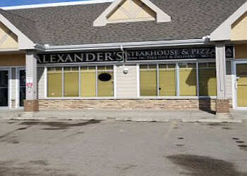 Airdrie steak house Alexander's Steakhouse & Pizzaria