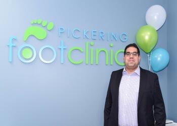 Pickering chiropodist Ali Bandali