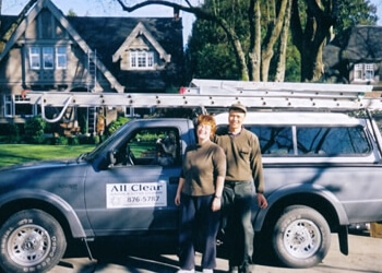 Burnaby gutter cleaner All Clear Windows & Gutter Cleaners