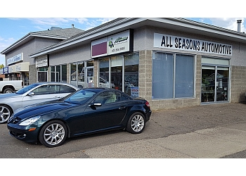 Medicine Hat car repair shop All Seasons Automotive Ltd.