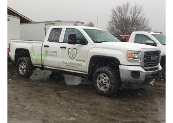 Whitby lawn care service  All Seasons Landscaping Co.