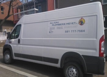 Quebec plumber All'eau plomberie Meyet, inc.