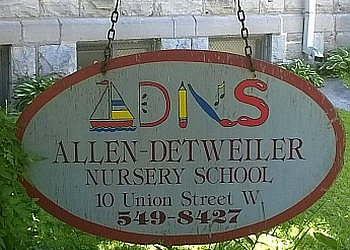 Kingston preschool Allen-Detweiler Nursery School