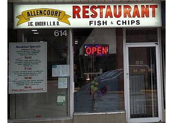 Richmond Hill fish and chip Allencourt Family Restaurant