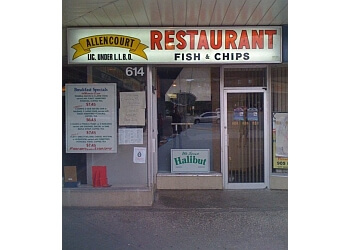 Richmond Hill fish and chip Allencourt Family Restaurant Fish & Chips