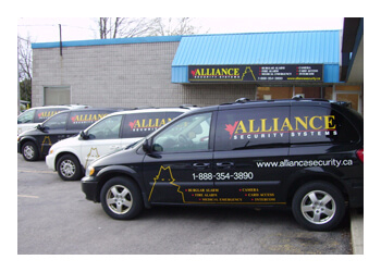 Cambridge security system Alliance Security Systems