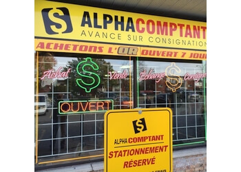 Repentigny pawn shop Alpha Comptant
