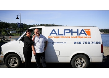 Nanaimo garage door repair Alpha Doors
