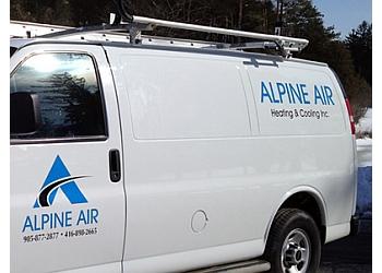 Halton Hills hvac service Alpine Air Heating & Cooling Inc.