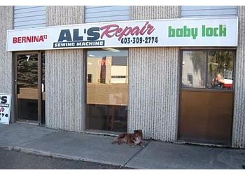 Red Deer sewing machine store Al's Sewing Machine Repair