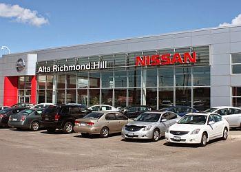 Richmond Hill car dealership Alta Nissan Richmond Hill