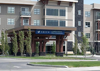 Calgary retirement home  Amica at Aspen Woods