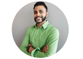Ajax physical therapist Amish Patel, PT