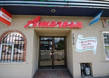 Amorosa Pasta House New Westminster Italian Restaurants