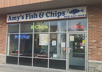 Richmond Hill fish and chip Amy's Fish & Chips