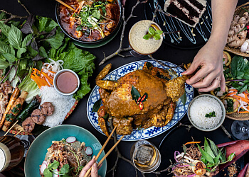 Vancouver vietnamese restaurant Anh and Chi