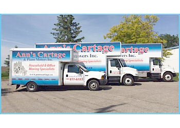 Halton Hills moving company Ann's Cartage & Piano Movers Inc.