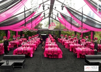Burnaby event rental company Apex Event Rentals