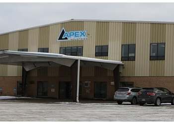 Moncton garage door repair Apex Industries