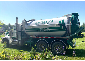 Sherwood Park septic tank service Ardalta Vacuum Truck Services Ltd