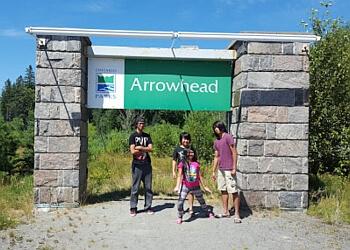 Huntsville hiking trail Arrowhead Provincial Park Trail