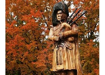 Orangeville landmark Art Walk of Tree Sculptures