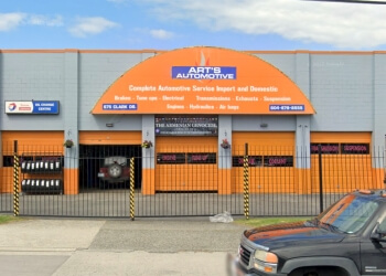 Vancouver car repair shop Art's Automotive Service Centre