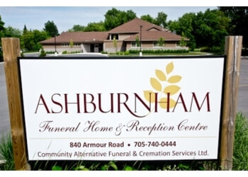 Peterborough funeral home Ashburnham Funeral Home & Reception Centre