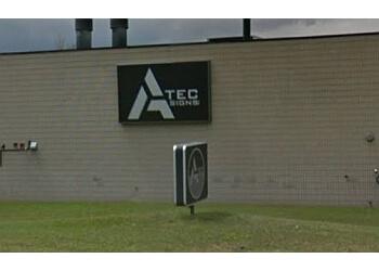 Brampton sign company Atec Signs inc.