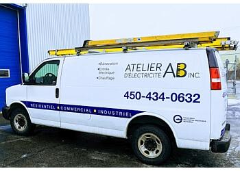 Blainville electrician Atelier d'Électricité AB Inc.