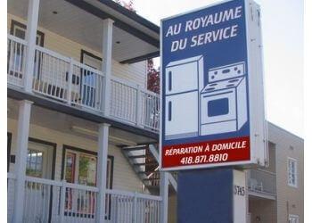 Quebec appliance repair service Au Royaume du Service Enr
