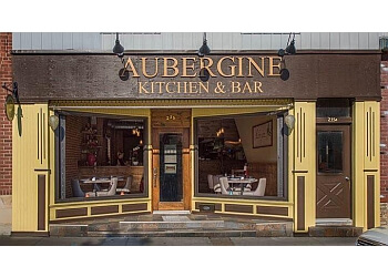 Newmarket mediterranean restaurant Aubergine Kitchen & Bar