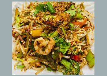 Orangeville thai restaurant Auntie Joy's Springrolls