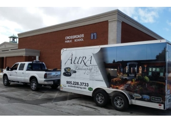St Catharines landscaping company Aura Landscaping