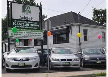 Hamilton used car dealership AutoHub