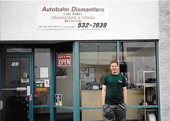 Langley auto parts store Autobahn Dismantlers