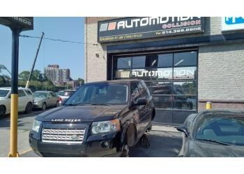 Montreal auto body shop Automotion Collision