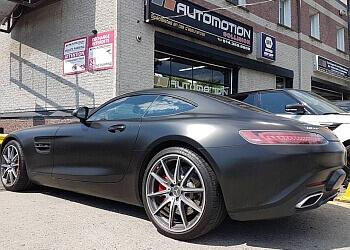Montreal auto body shop Automotion Collision Centre